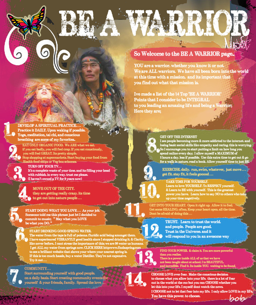 BE A WARRIOR copy-2
