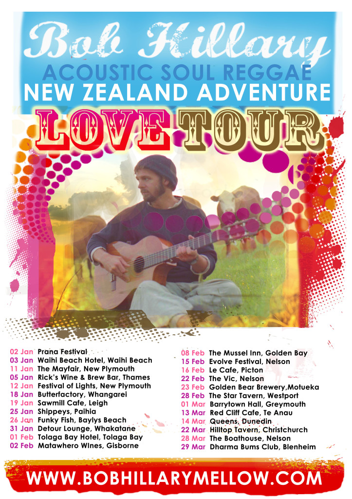 new zealand TOUR POSTER up to date